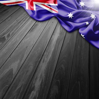 Australie flag background