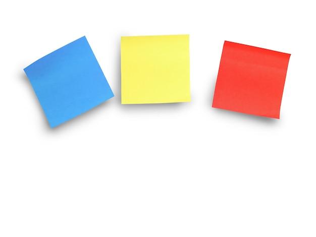 Autocollants adhésifs multicolores pour vos messages