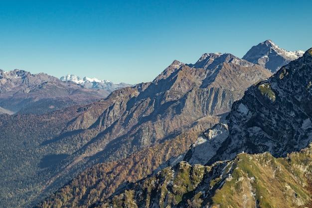 Automne dans les montagnes
