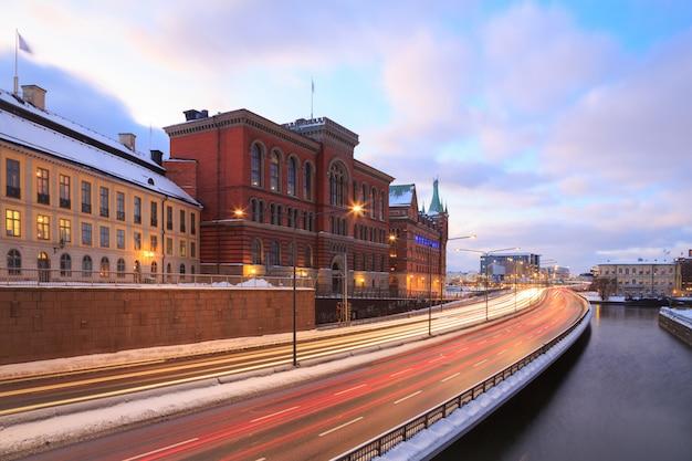 Autoroute de stockholm, suède