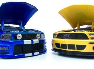Autos miniatures, d'entraînement