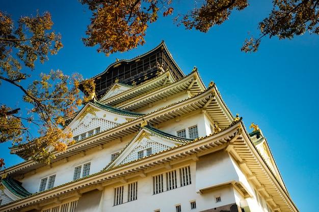 Autre scène du château d'osaka, l'une des destinations de voyage les plus populaires d'osaka au japon