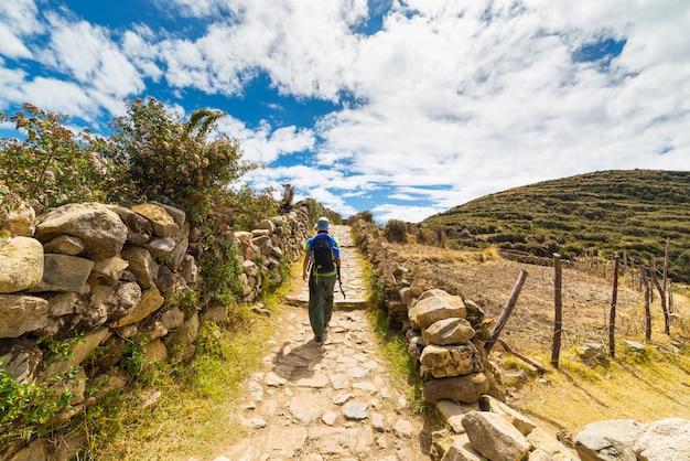 Aventures sur l'île du soleil, lac titicaca, bolivie