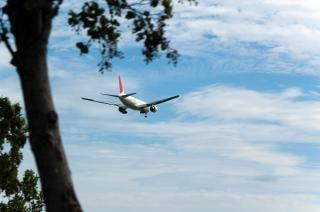 Avion blanc