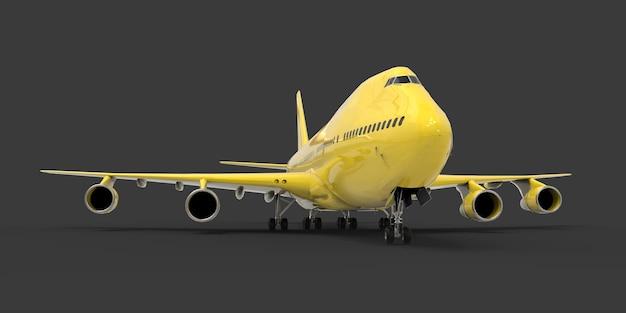 Avion de grande capacité de grande capacité pour les longs vols transatlantiques