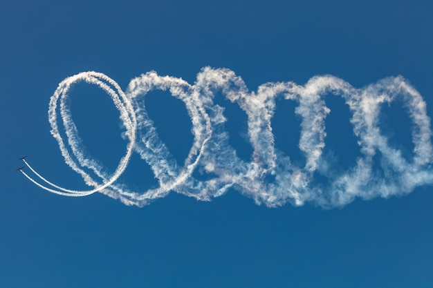 Avion grob de l'équipe aerosparx