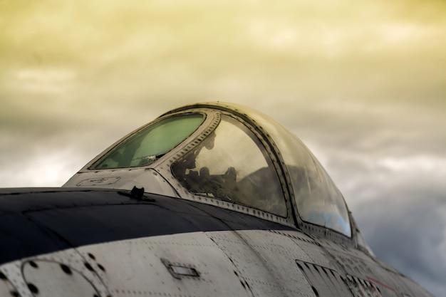Avion militaire vintage