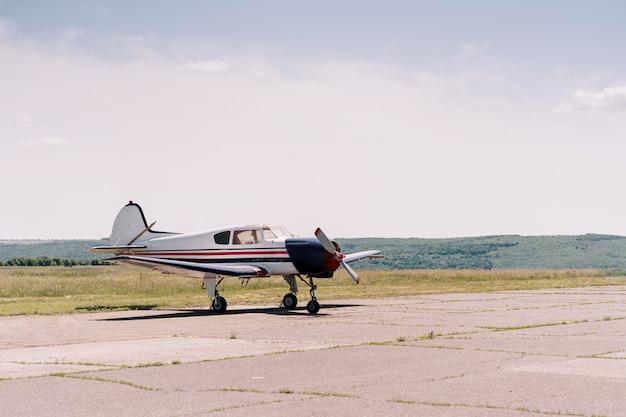 Avions privés sur le terrain