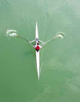 Aviron en kayak