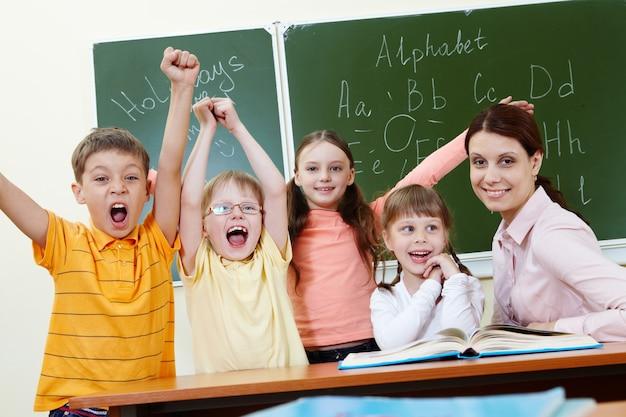 Avoir un bon temps en classe