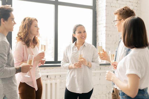 Avoir du champagne