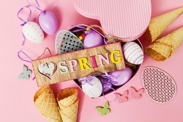 Avril heureux décoration jolie vue