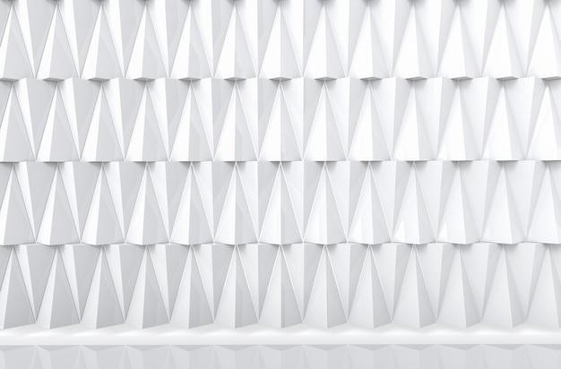 Backgorund de mur de pile modèle polygonal gris moderne.
