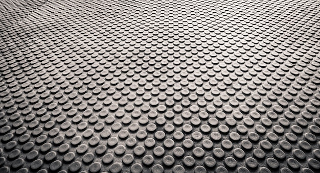 Backgorund de texture abstraite de points, perspective et vue de clode-up, fond de plancher d'horizon