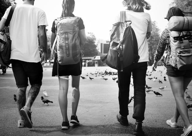 Backpackers à chiang mai, thaïlande