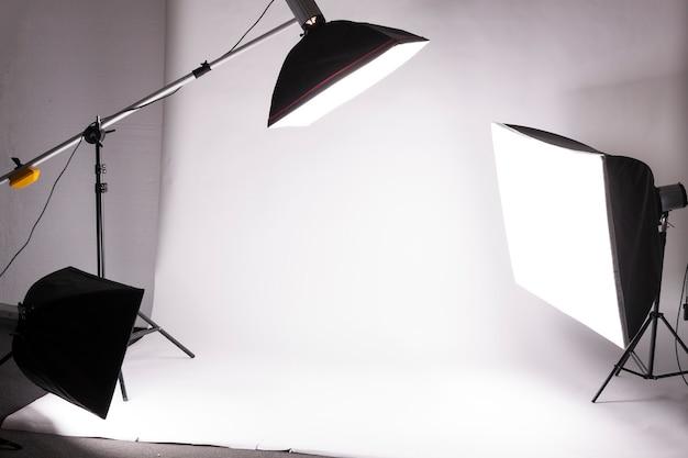 Backstage du tournage en studio