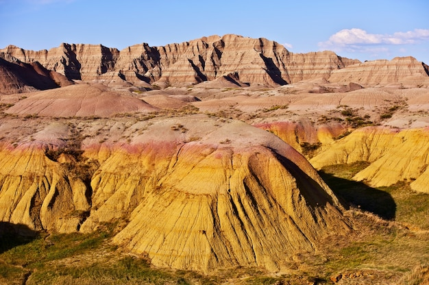 Badlands landscape