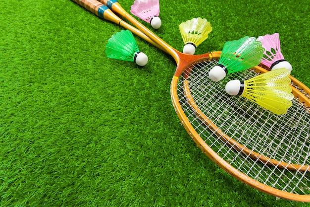 Badminton sur l'herbe