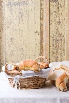 Bagels frais cuits au four