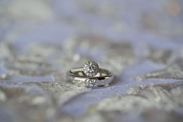 Bague de mariage, mariage thaï, bijoux, mariage, fiançailles