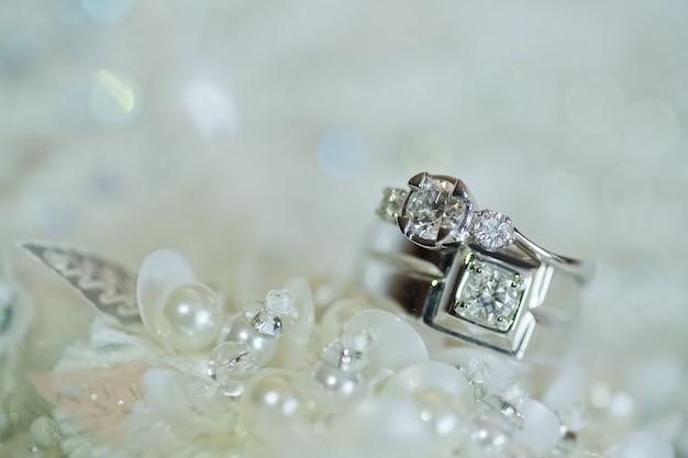 Bague de mariage, mariage thaïlandais, bijoux, mariage, fiançailles