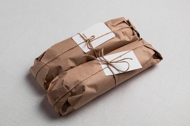 Baguettes enveloppées à angle élevé