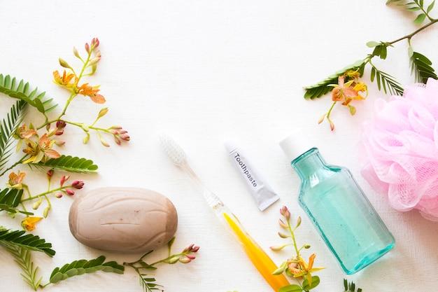 Bain de bouche pour les soins de santé cavité buccale et savon aux herbes de tamarin