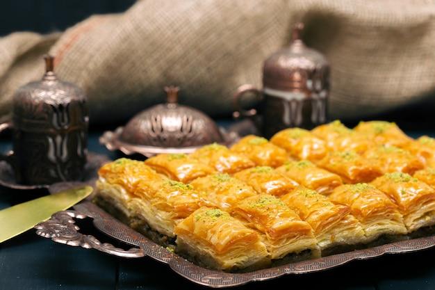 Baklava dessert ramadan turque