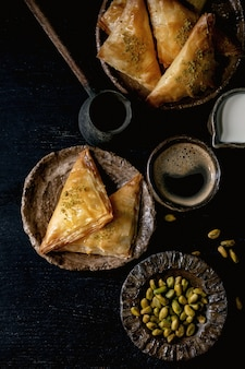 Baklava dessert turc