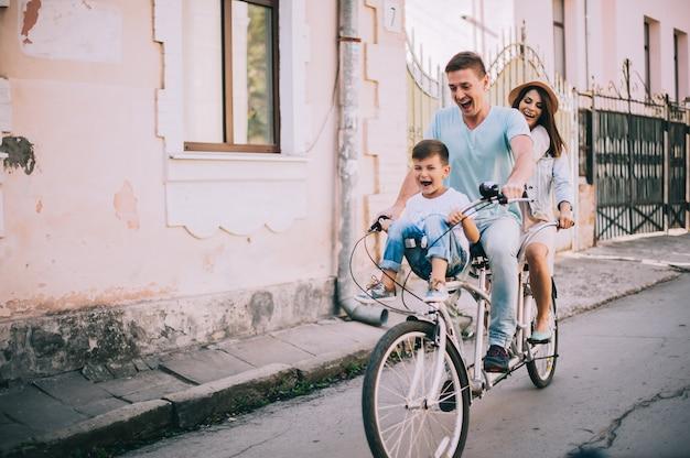 Balades à vélo en famille