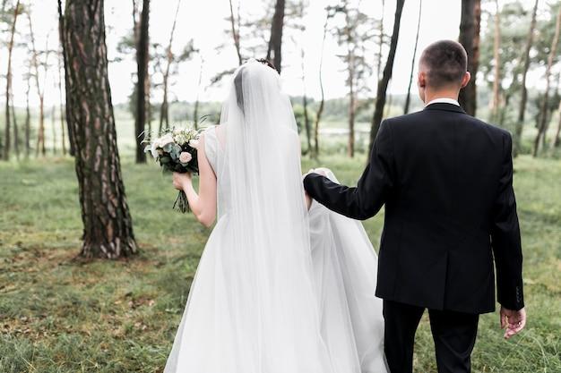 Balai et mariée