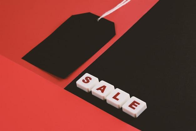 Balise de vente avec réduction