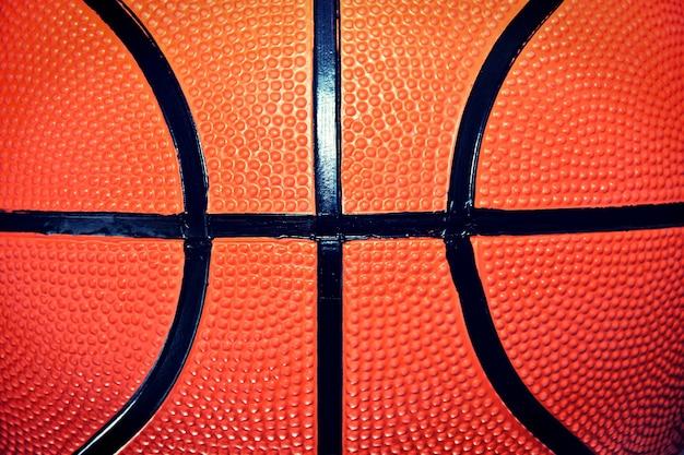 Balle de basketball.