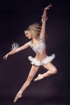 Ballerine - cygne blanc