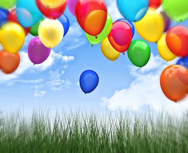 Ballon 3d