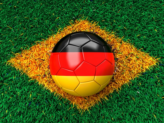 Ballon de foot allemand