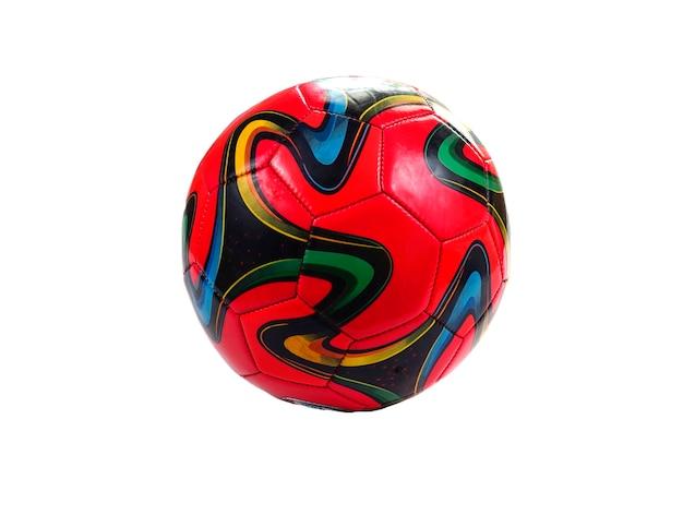 Ballon de football multicolore
