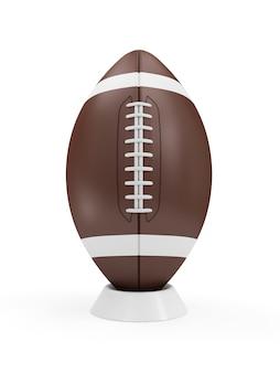 Ballon de rugby isolé