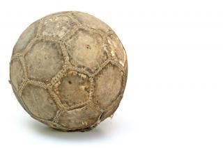 Un ballon de soccer, de la couleur