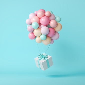 Ballons 3d et coffret cadeau
