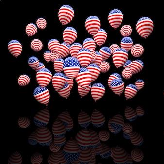 Ballons électoraux américains