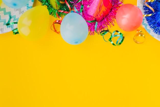 Ballons pour fête d'anniversaire