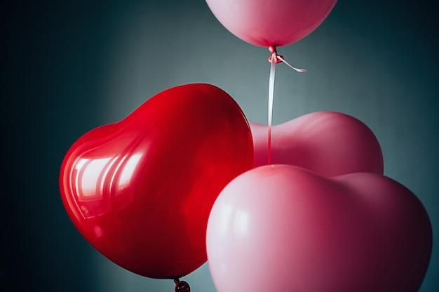 Ballons vintage love heart