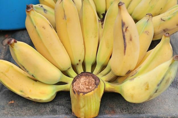 Banane au street food