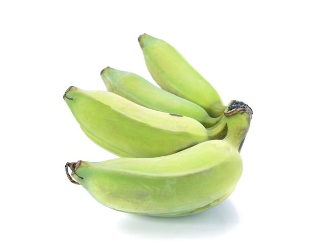 Banane sur blanc