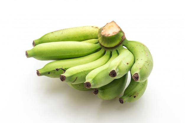 Banane isolée sur fond blanc