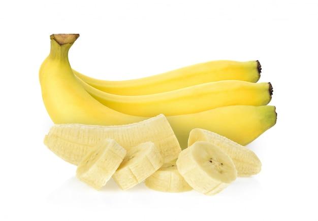 Banane isolée