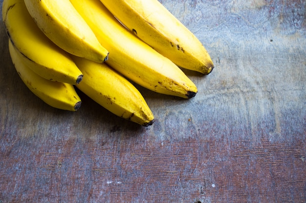 Bananes fraîches