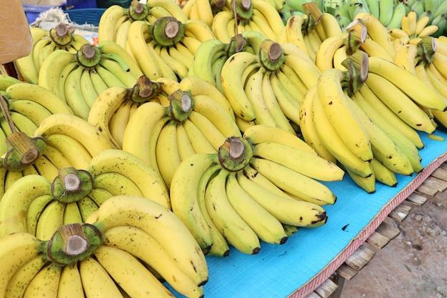 Bananna au marché