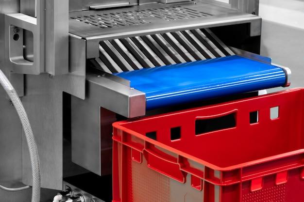 Bande transporteuse de la machine industrielle d'emballage
